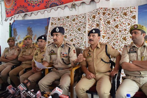 Curbing burglary, other crimes also our priority: SSP Srinagar